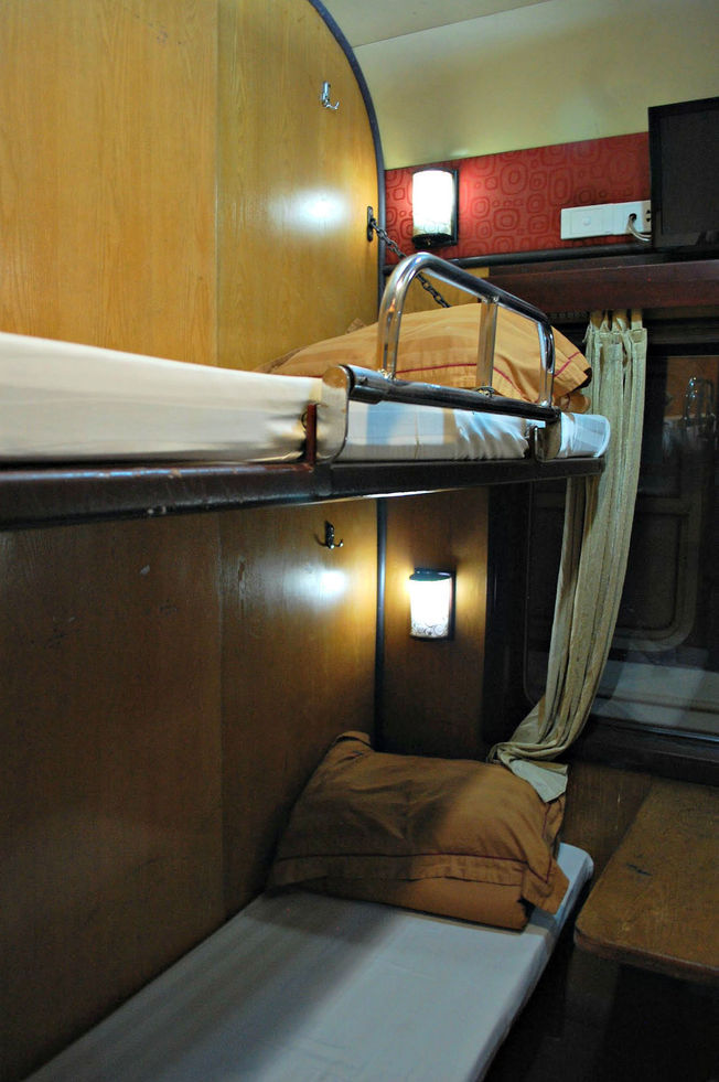 Soft Bed Berth on the Vietnam Overnight Train