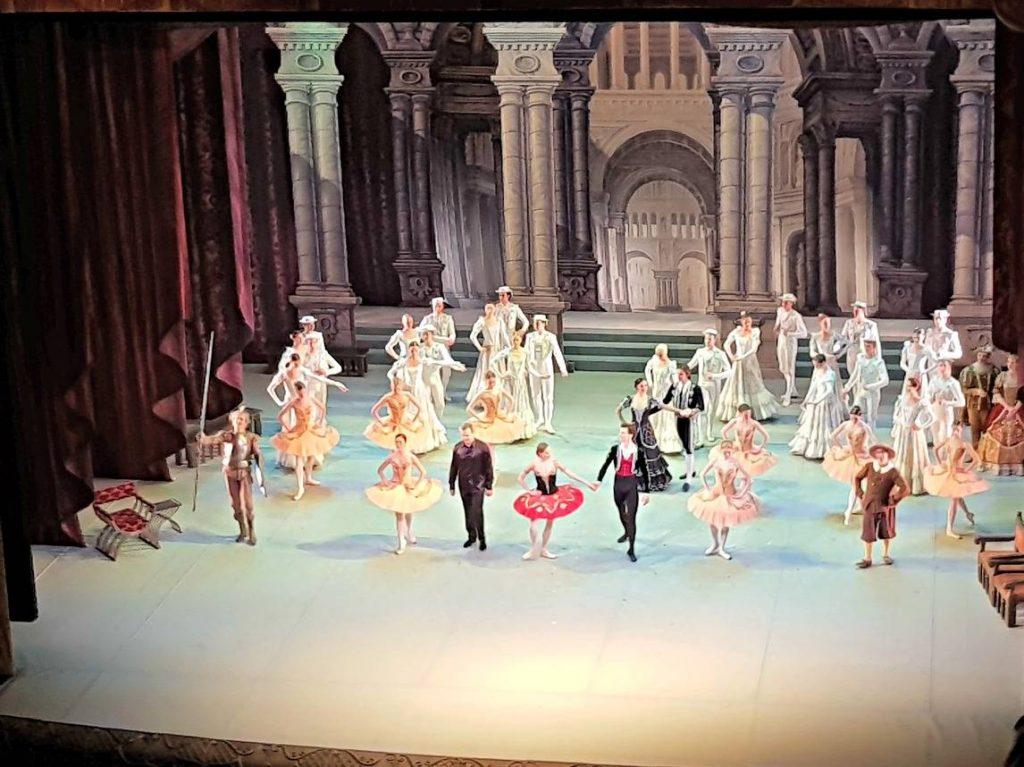 Ballet at Mikhailovsky Theatre St Petersburg
