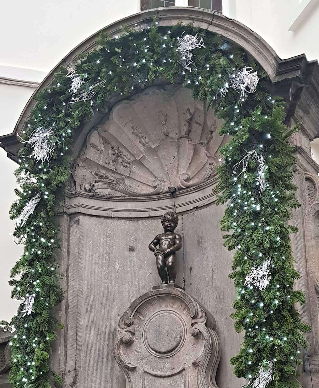 Brussels trip to Manneken-Pis Statue
