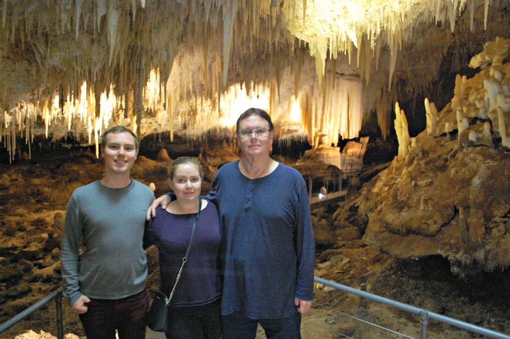 Jewel Cave in Augusta, Western Australia