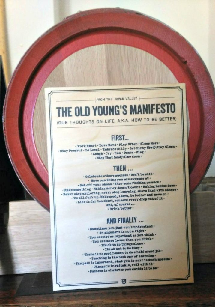 Old Young's Manifesto