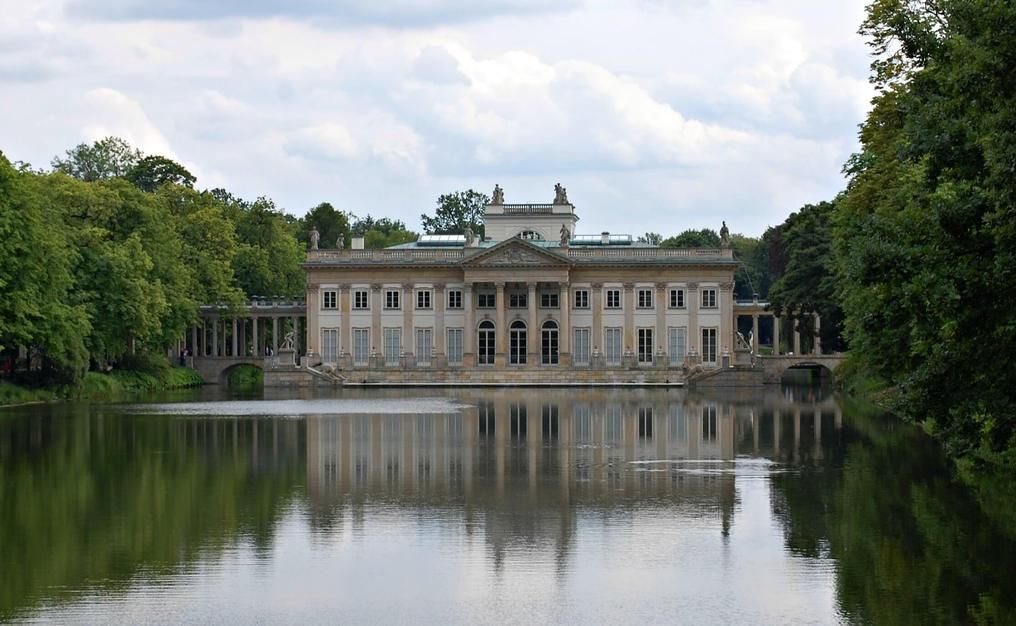 Palace on the Island in Warsaw