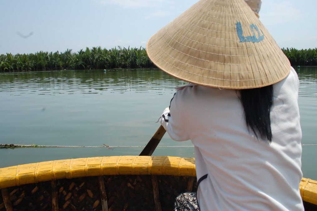 Bamboo Boats in Hoi An