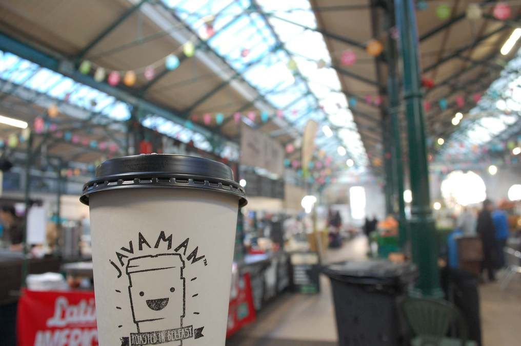 Coffee at St Georges Market