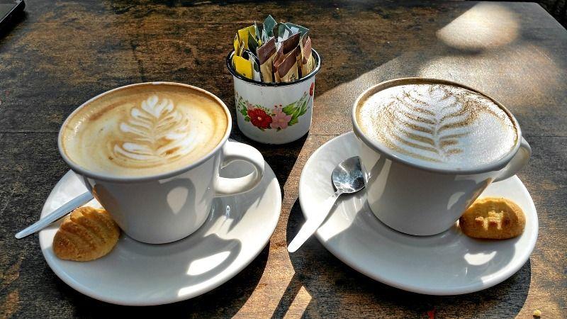 Durban Freedom Cafe coffee