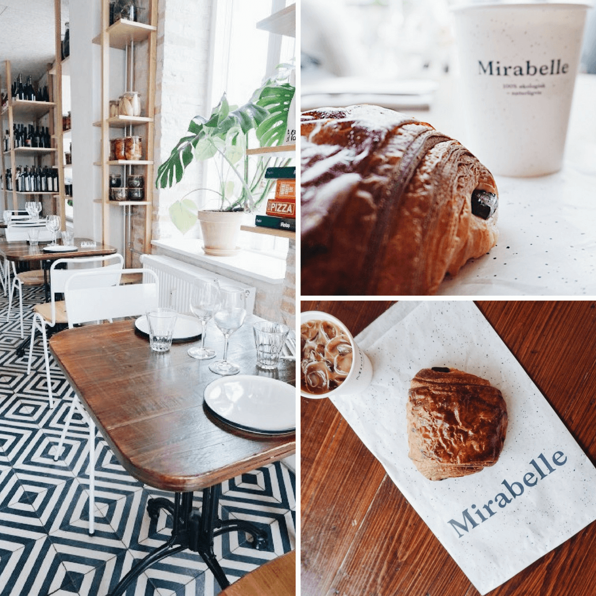 Mirabelle Bakery in Copenhagen, Denmark