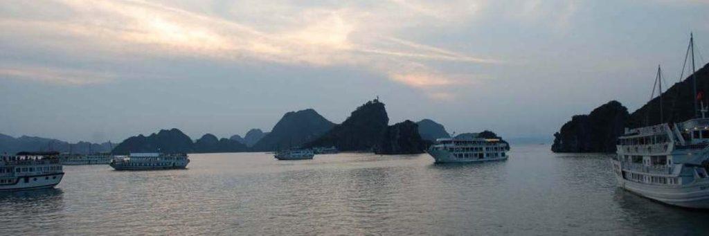 Sunset Over Ha Long Bay
