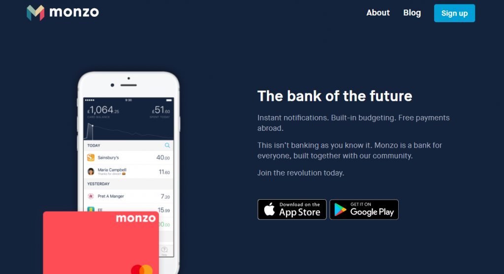 Monzo Current Account