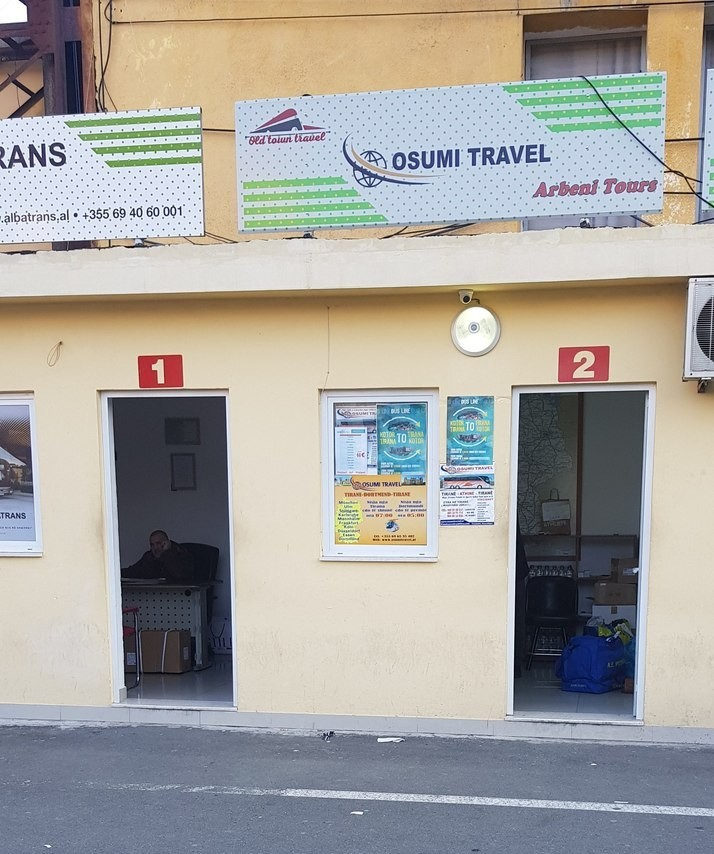 Osumi Travel where you can buy tickets from Tirana to Kotor