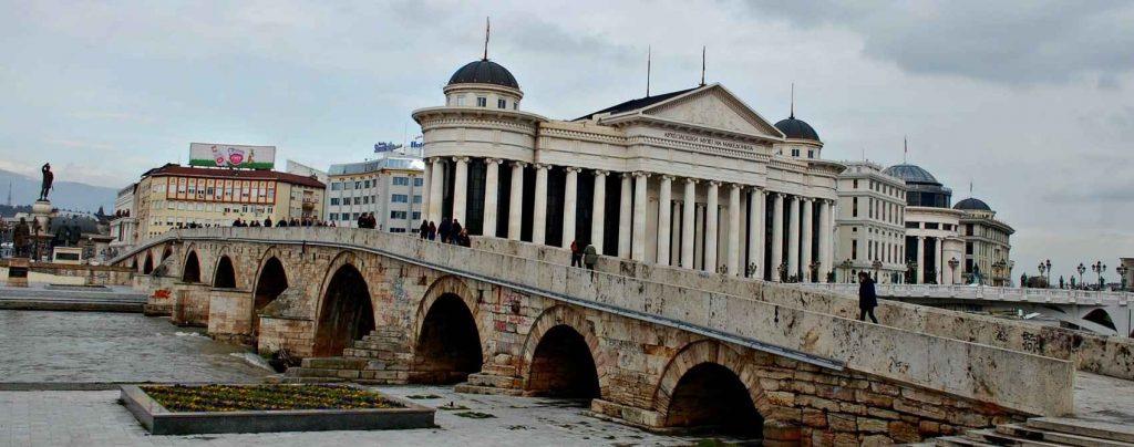 Stone Bridge in Skopje