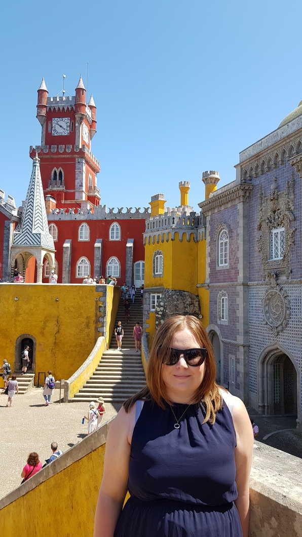 Kat at Pena Palace