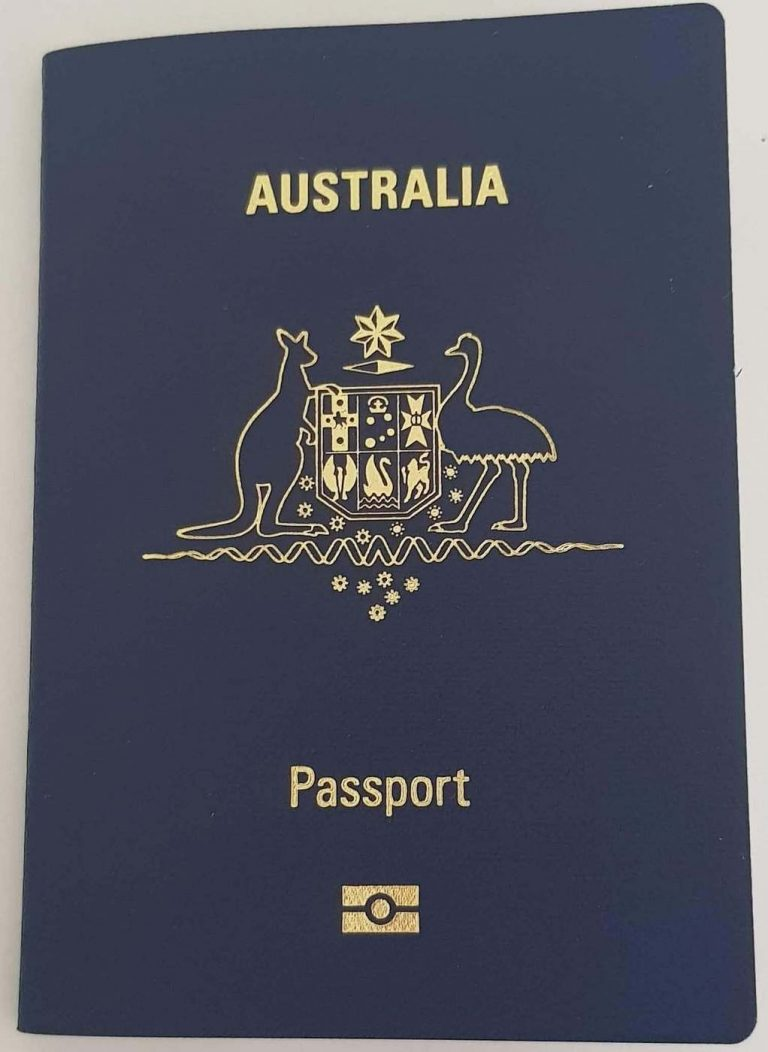 New Australian Passport