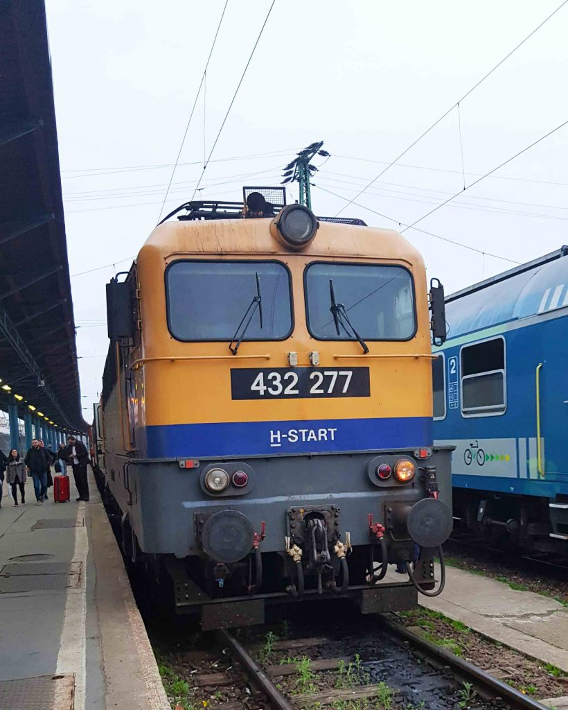 overnight train from Belgrade Centar station