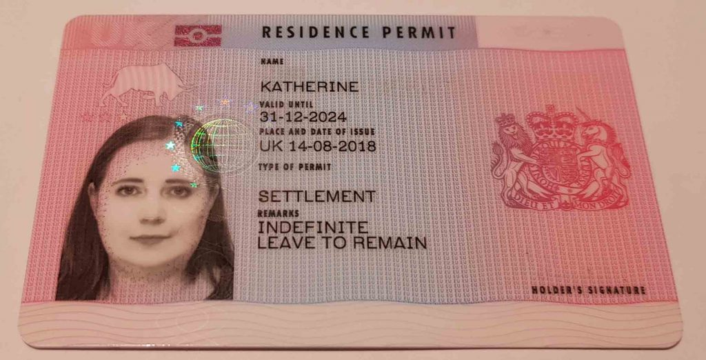 Biometric Residency Permit