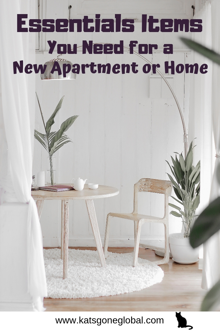 Essentials Items You Need for a New Apartment or Home