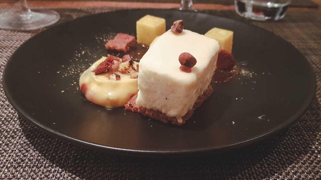 The amazing vegetarian dessert at Vanilla Black.