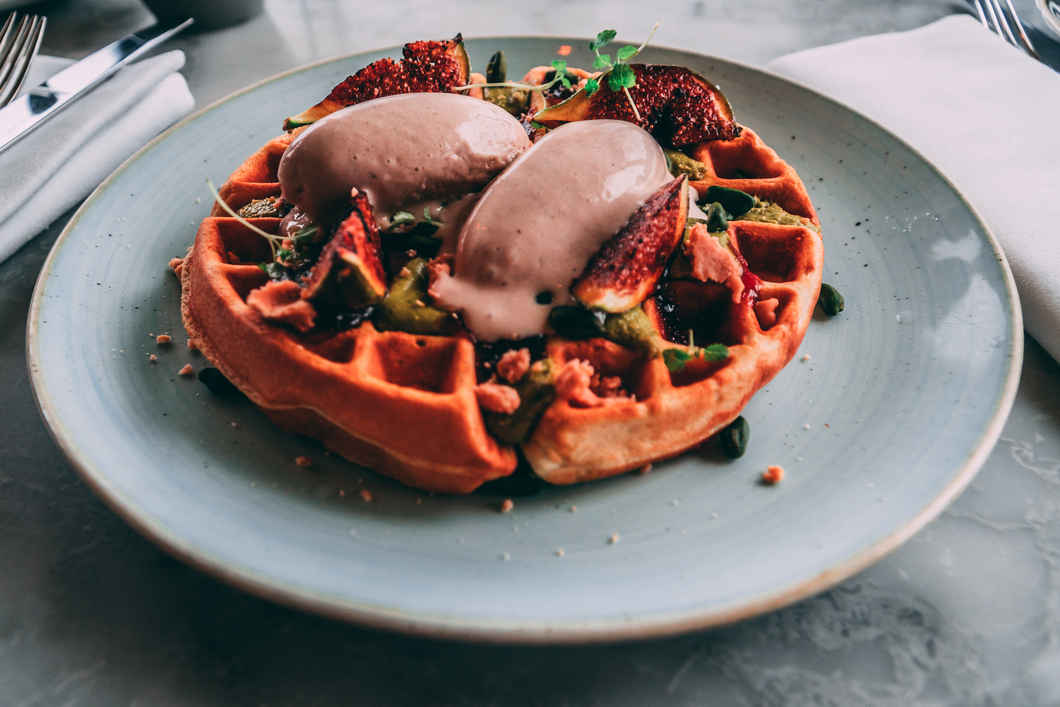 Incredible Waffles at Duck and Waffle