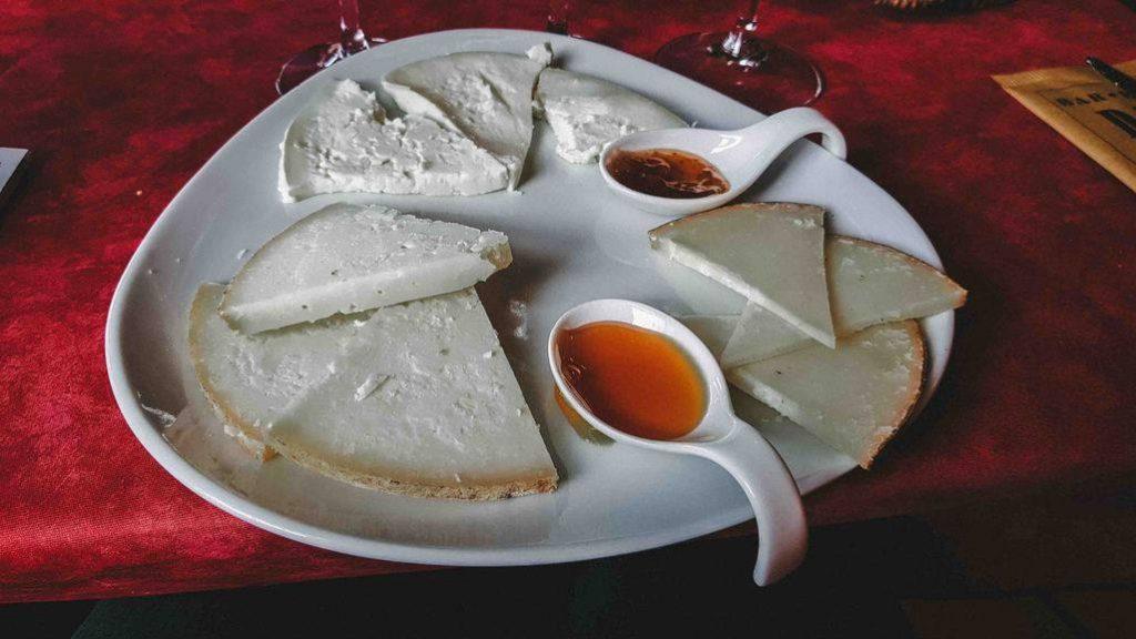 Cheese at Bar Dante