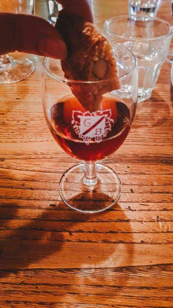 Try Cantuccini with Vin Santo for Dessert (Biscotti di Prato)