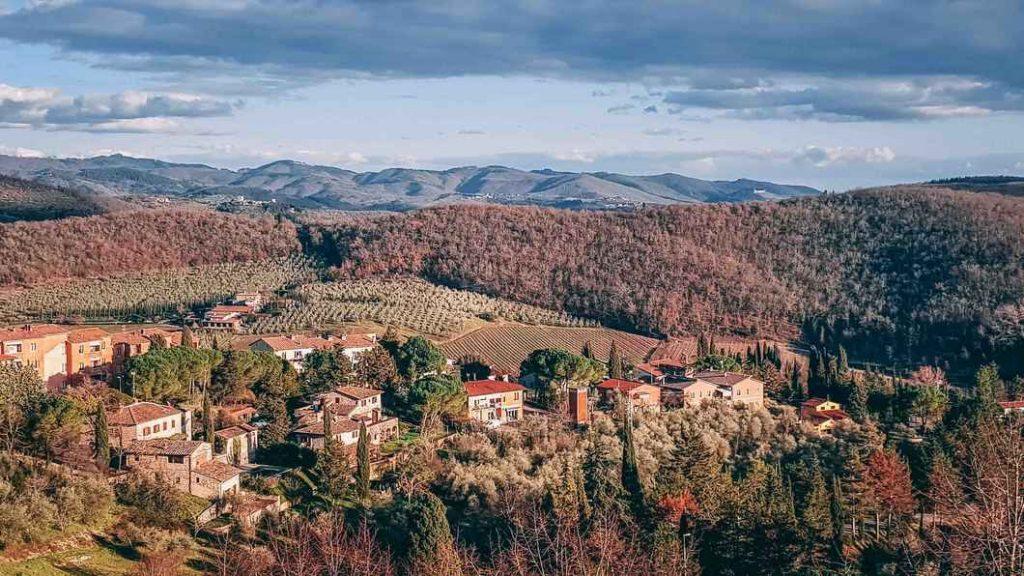 View of Radda