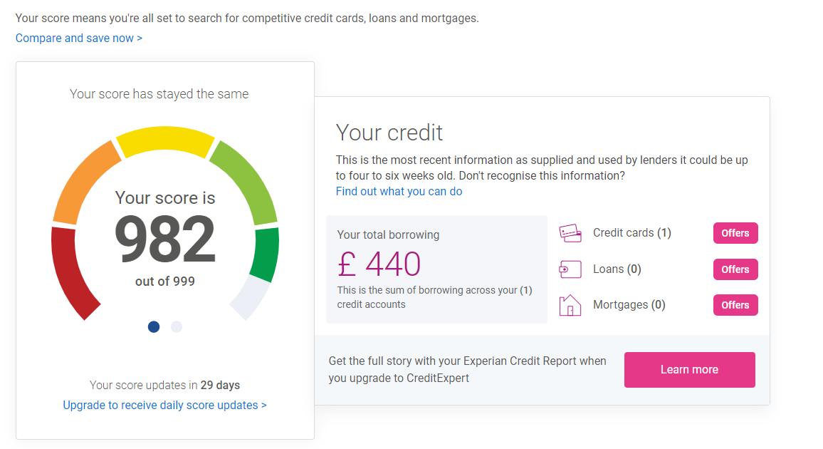 basic credit report