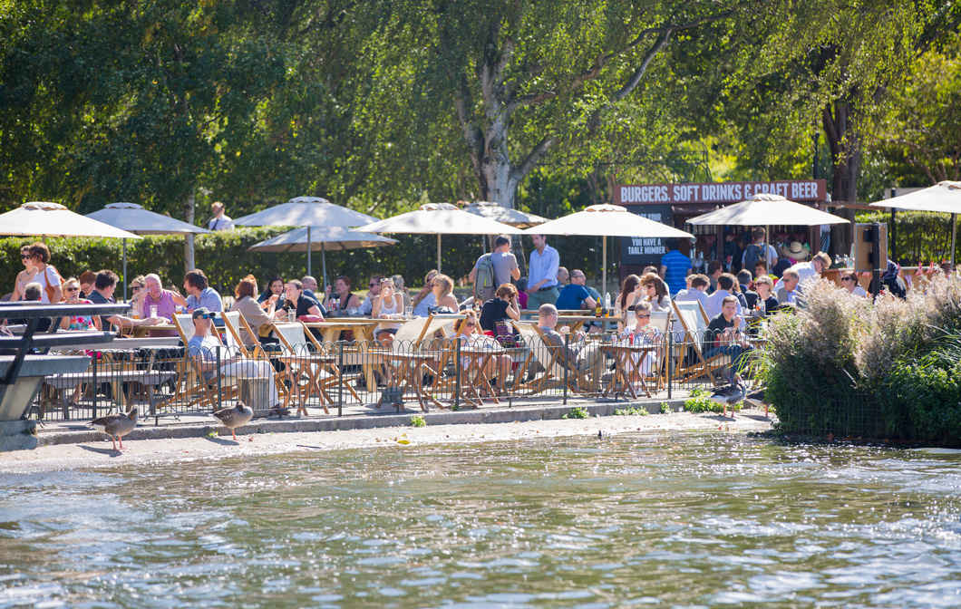 Stop for Drinks and Food in Hyde Park