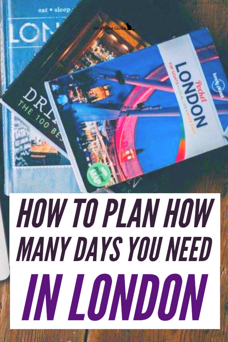 How to Plan How Many Days You Need in London