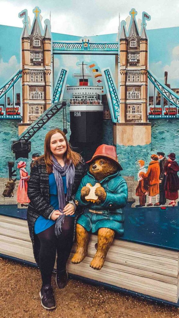 Kat and Paddington Bear