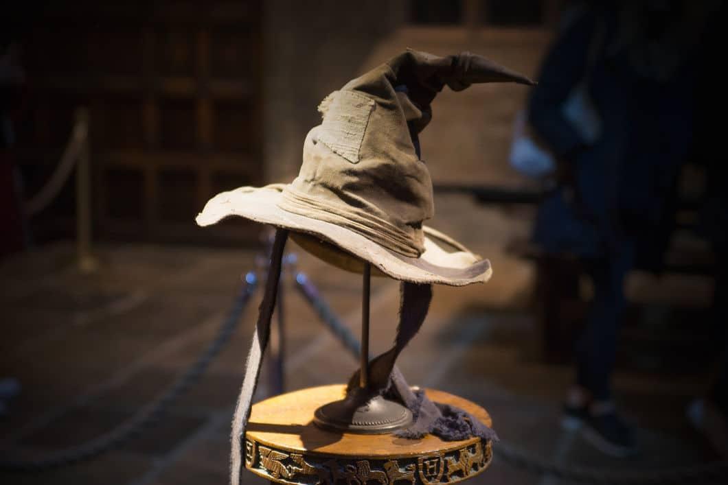 The Sorting Hat at Warner Bros. Studio Tour London