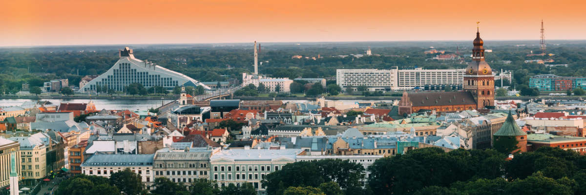 Incredible Viewpoints in Riga, Latvia