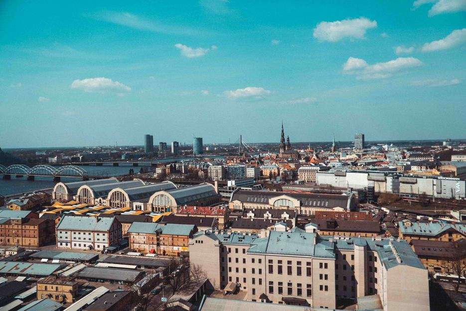 Latvian Academy of Sciences – Panorama Observation Deck