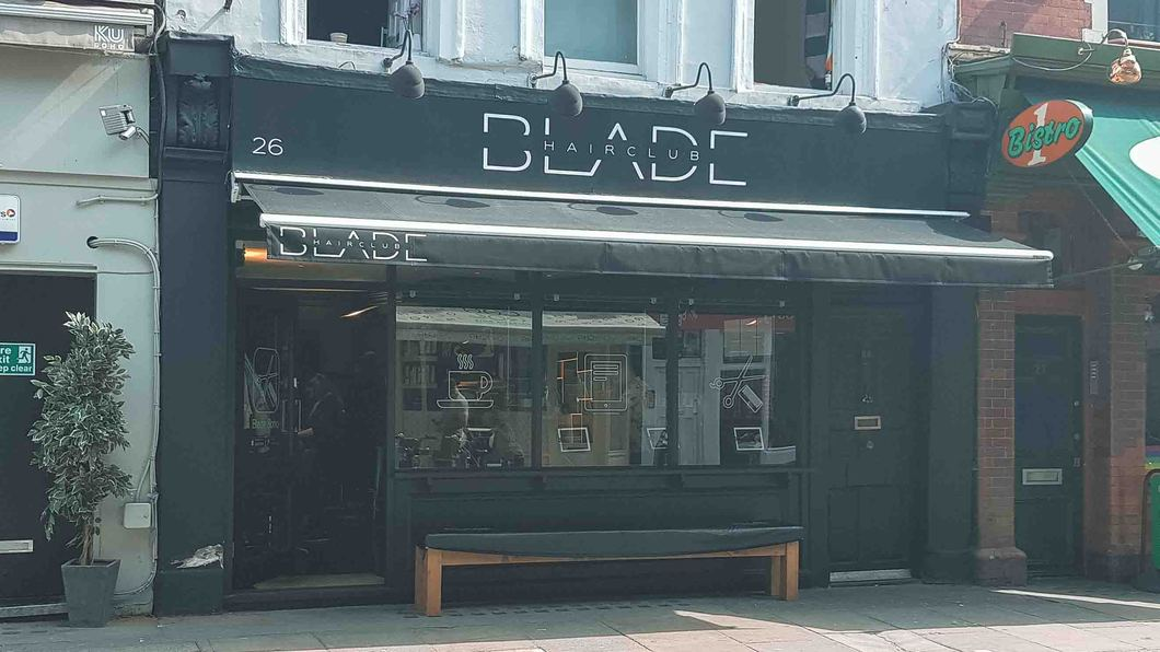 London Hairdressers - Blade in Soho