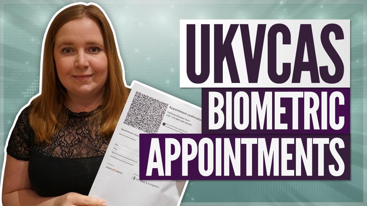 Biometrics Appointment for UK Visas (UKVCAS Process Explained)