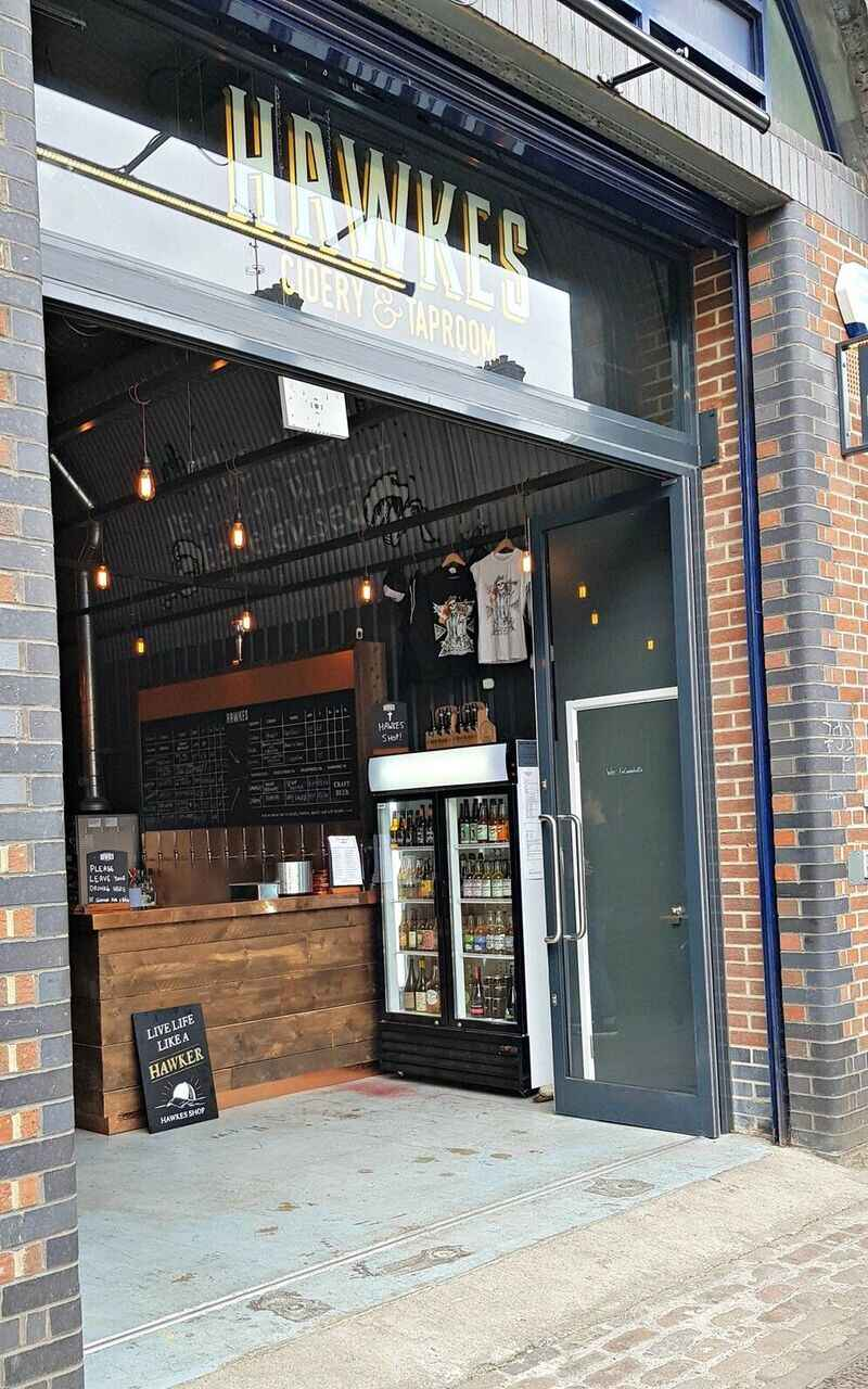 Hawkes Cidery & Taproom on the Bermondsey Beer Mile