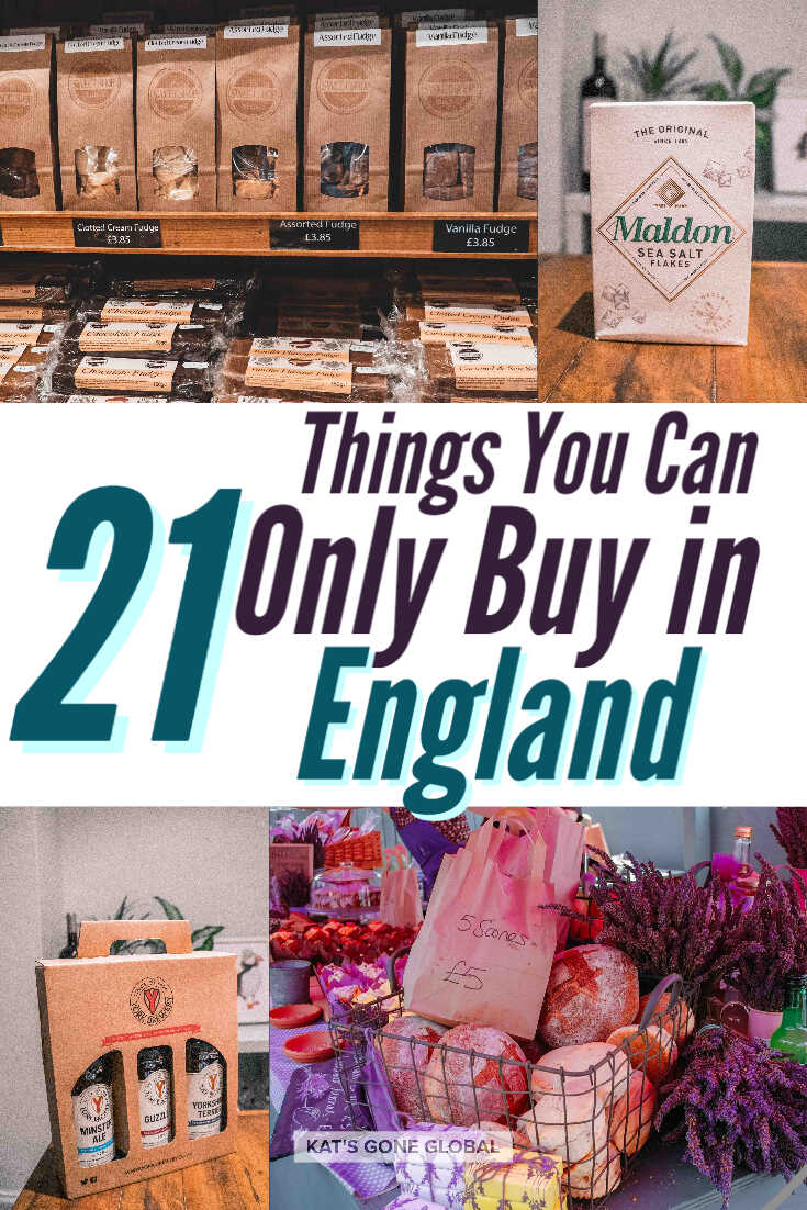 21 Things You Can Only Buy in England