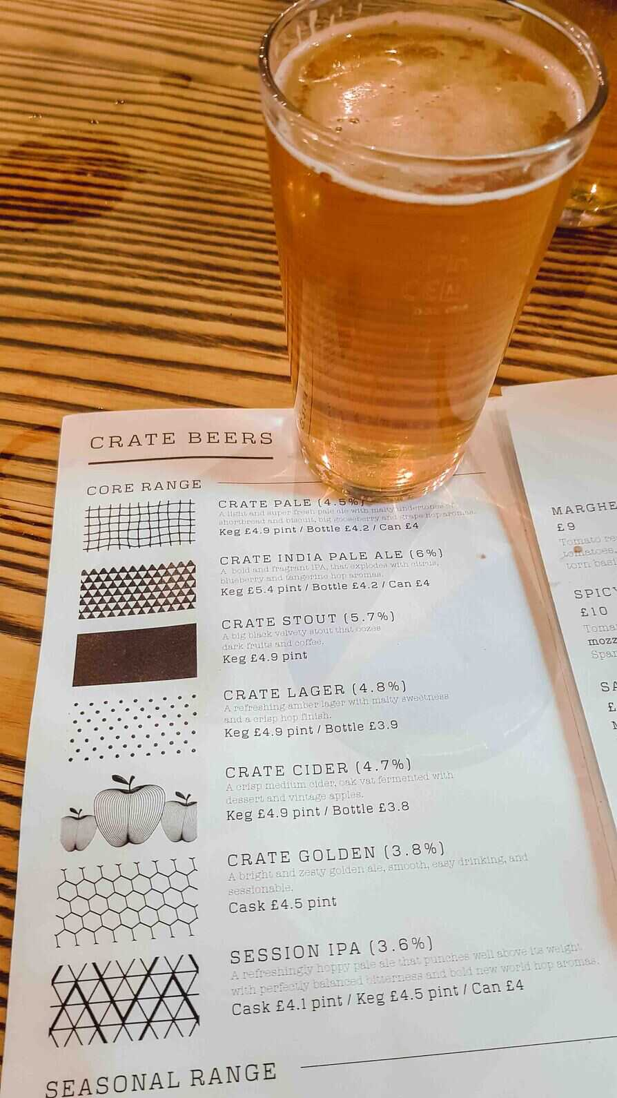 Craft Beer at Crate Brewery in Hackney Wick London