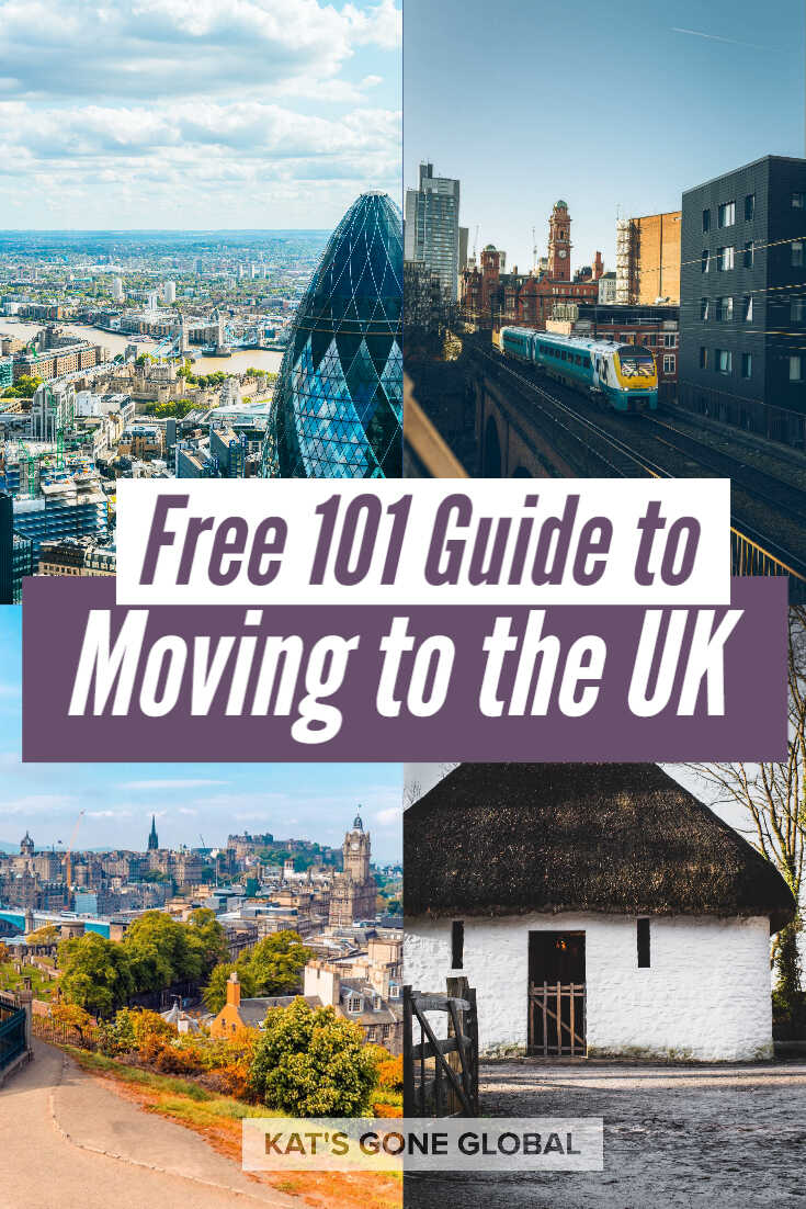 Free 101 Guide to Moving to the UK