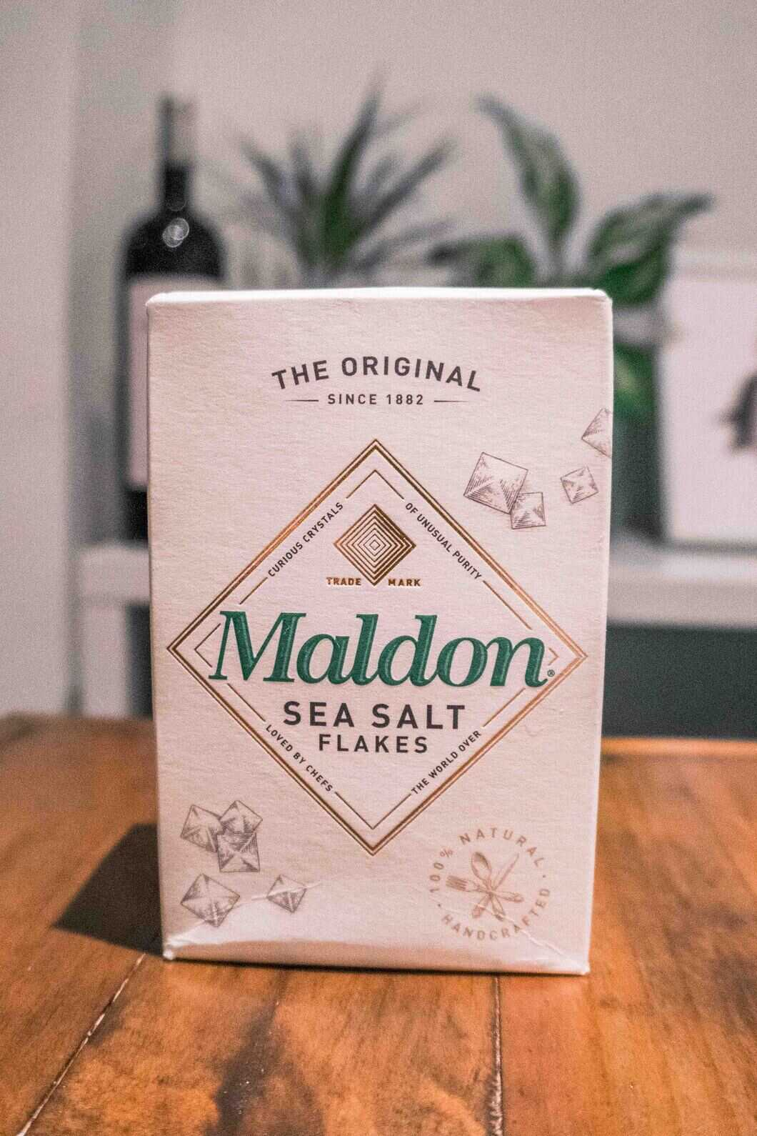 Maldon Sea Salt can easily be picked up from one of the supermarkets in the UK making it an easy gift to take home.