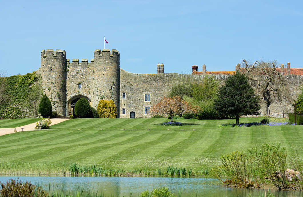 Amberley Castle is the perfect castle to stay in England!
