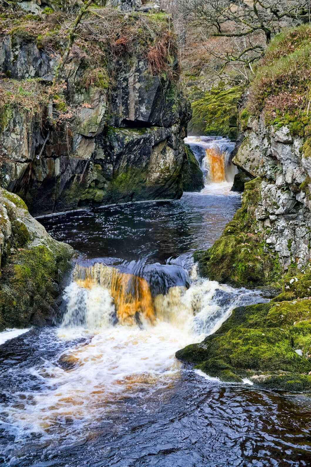 Ingleton Falls, North Yorkshire