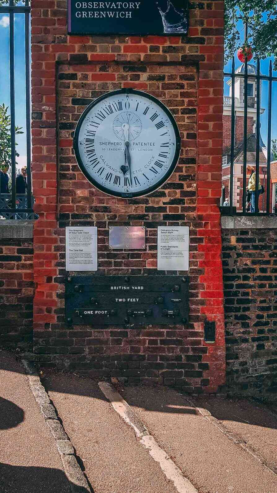 At the top discover Prime Meridian Line and  Royal Observatory Greenwich.