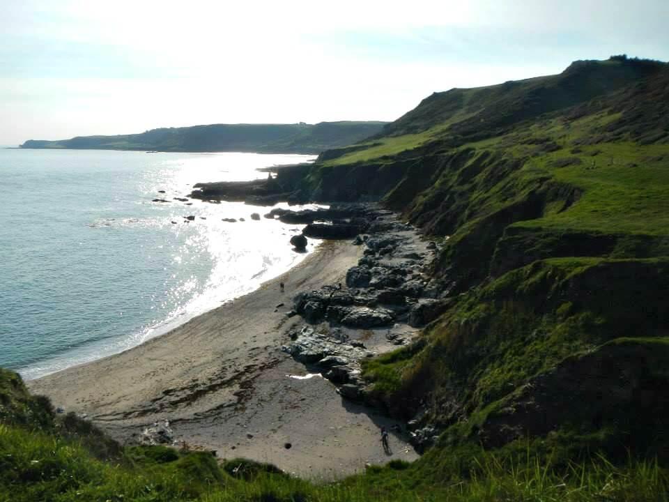 One of the beaches in Devon