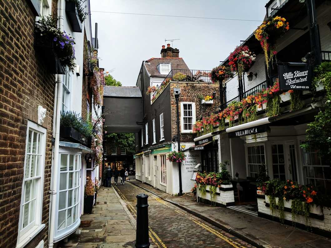 Cute street in Hampstead
