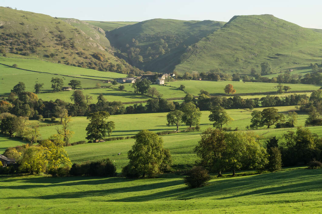 View towards Thorpe Cloud, Dovedale