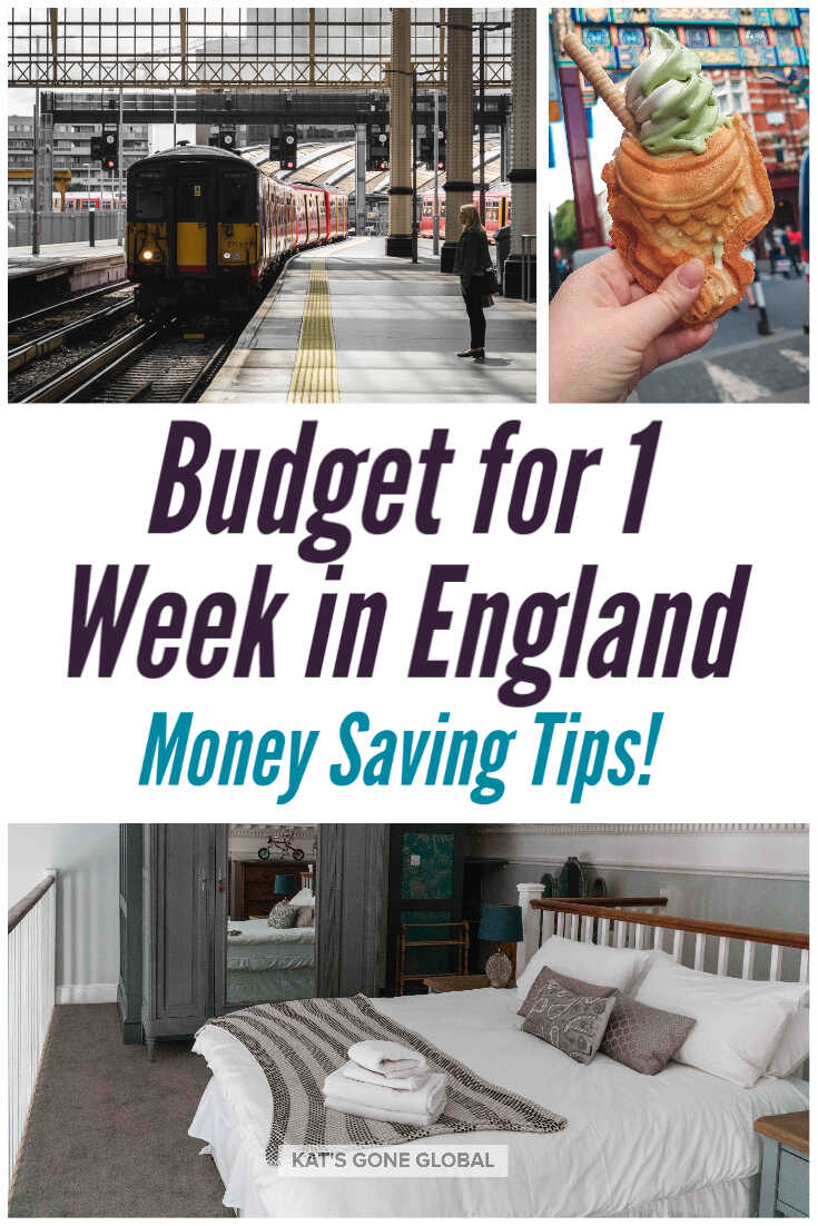 1 Week Trip to England Cost