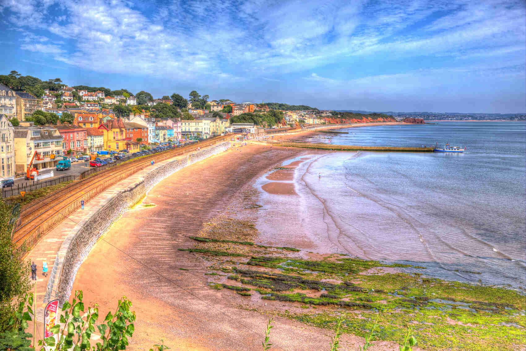 Dawlish Devon England Beach