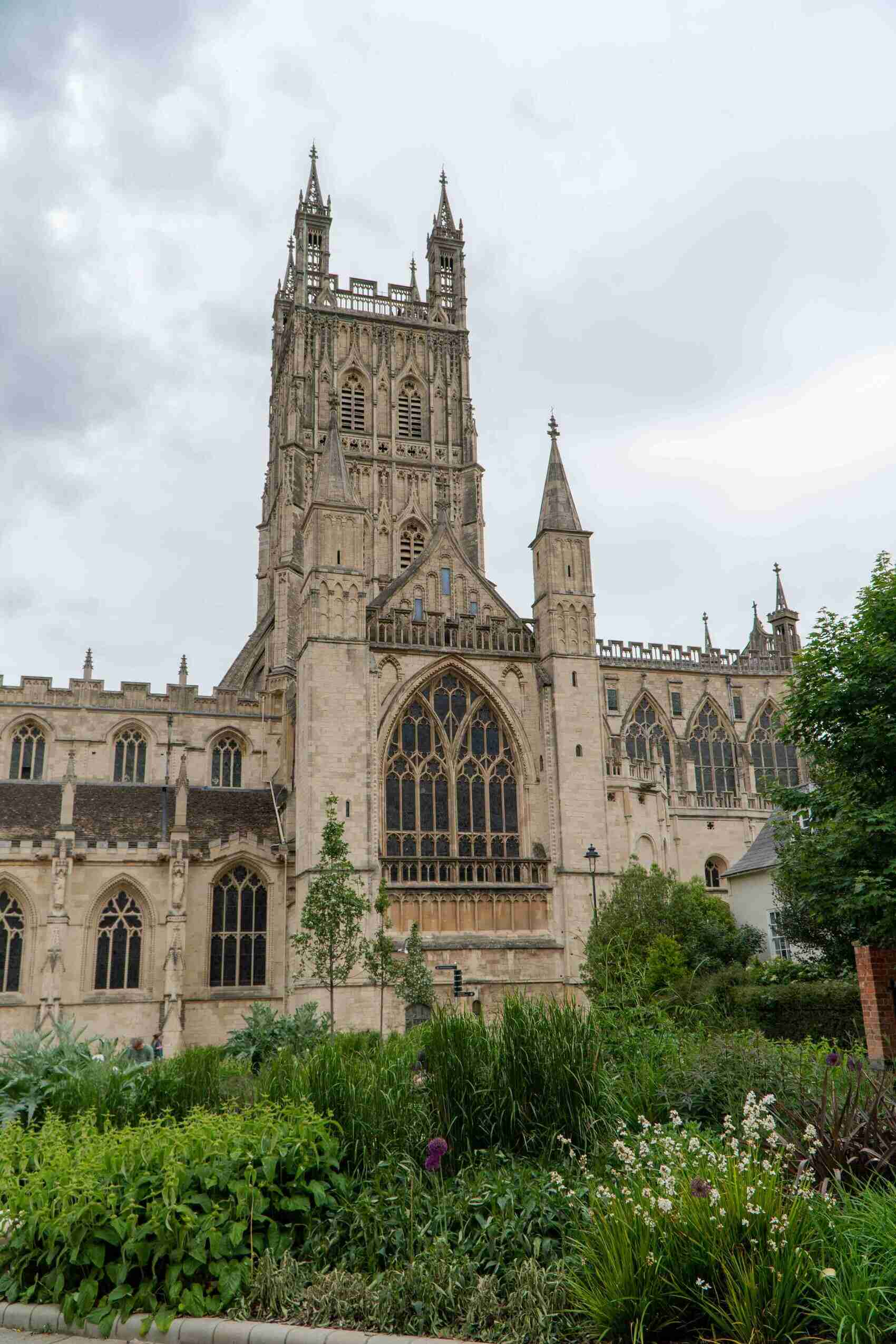 Historical cathedral city Gloucester