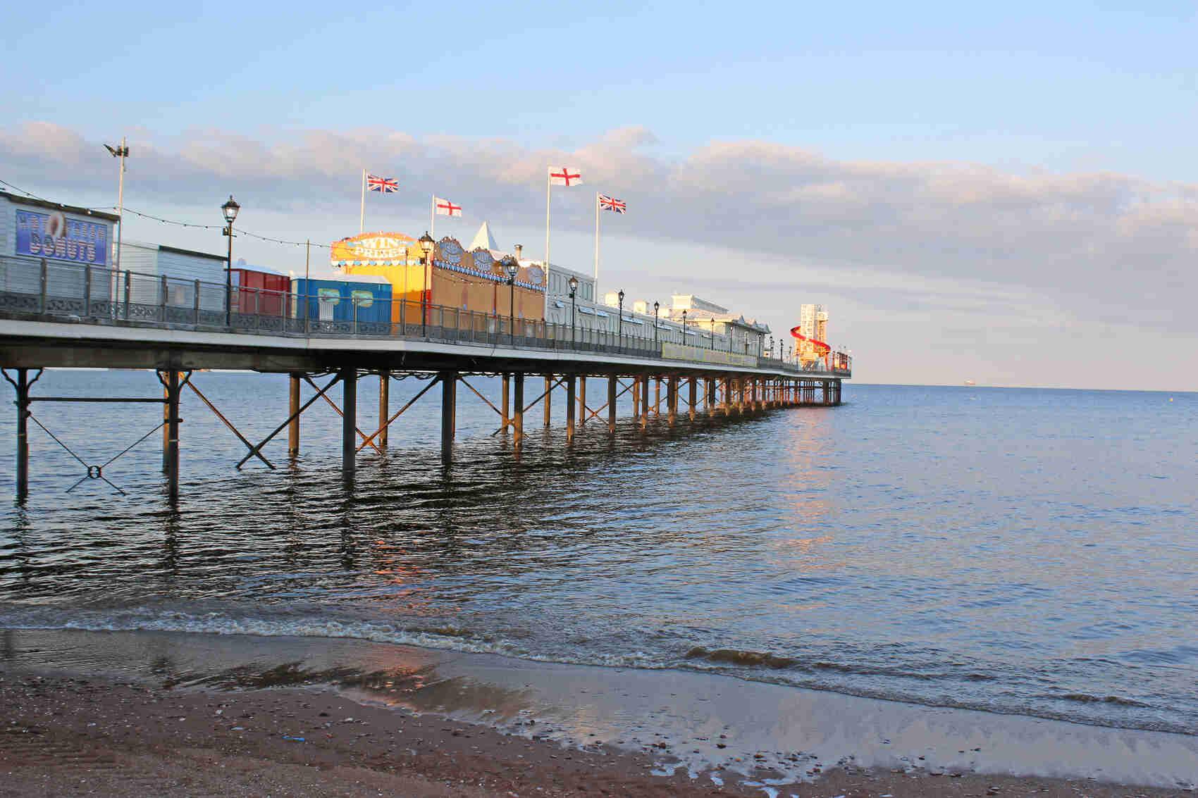 Paignton Pier Torbay Devon