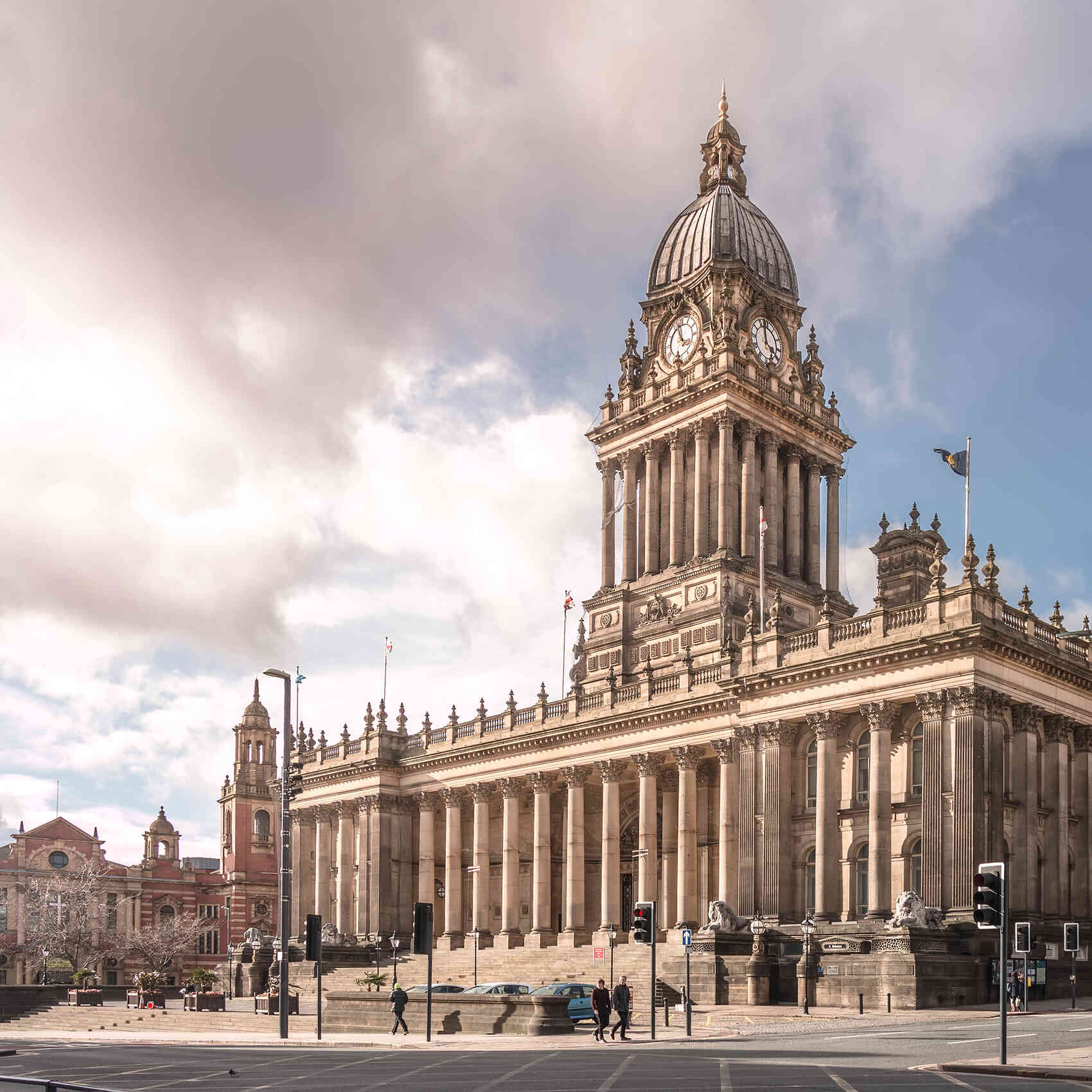 Town Hall in Leeds West Yorkshire UK
