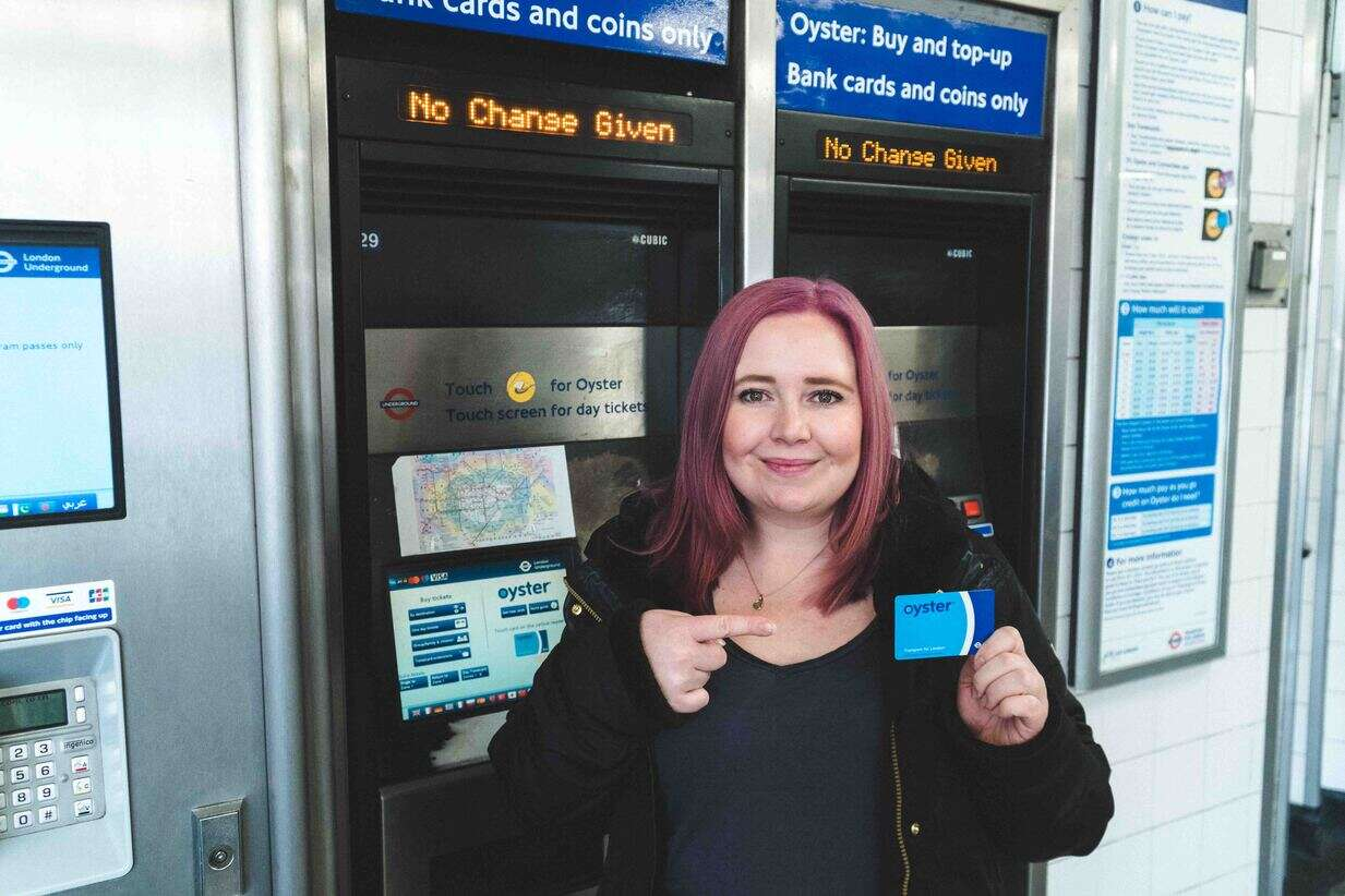 Oyster Cards in London are essential.